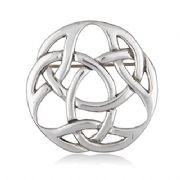 Durrow Knot Pewter Brooch